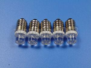 5pcs New 3V 4.5V 5V 6V 6.3V 7V 8V 9V 12V 18V 24V LED Singal Indicator Light Bulb
