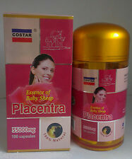 6 * Costar Sheep Placenta 35000mg 100 Capsules Australian Made  Sheep Placentra