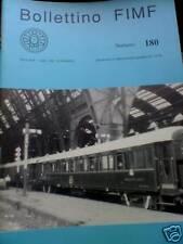 Bollettino FIMF treni 1991 180 Elettromotrici Metro Mil