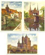 NEDERLAND 1951   KINDERBRIEFKAARTEN  5  x