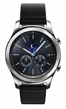 Samsung Galaxy Gear S3 Classic SM-R770 w/ Black Leather Band