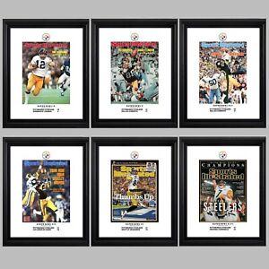 "Steelers' Six Super Bowl Championships — 11""x14"" Commemorative Poster Set"
