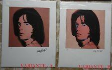 Parentesigrafica presenta: ANDY WARHOL - Mick Jagger portraits CMOA (A2020/L004)