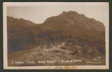 S. STEFANO D'AVETO, Genova. Monte Tomarlo e Strada al Penna. Viaggiata nel 1917.