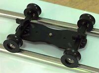 New Wheel for DIY camera dolly rig slider track table skater U groove fr tripod