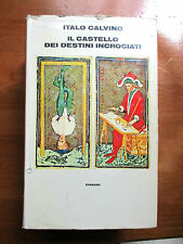 Calvino IL CASTELLO DEI DESTINI INCROCIATI - Einaudi 1973
