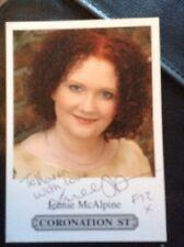 Jennie McAlpine Hand Signed Autograph