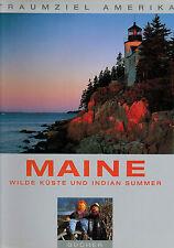 Heeb, Viedebantt, Maine Wilde Küste u Indian Summer, Neuengland-Staaten USA 1995