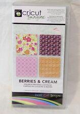 Used Cricut Imagine cartridge Berries & Cream Complete in Box Great Gift Idea!
