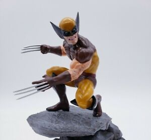 Diamond Select Marvel Brown Wolverine 9 Inch PVC Figure IN HAND