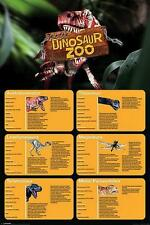 Erth's Dinosaur Zoo : Dino Facts - Maxi Poster 61cm x 91.5cm (new & sealed)