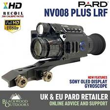 Pard NV008P LRF Night Vision Rifle Scope - AMOLED - Gyroscope 2020 Model