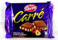 Savoy Carré Milk Chocolate with Hazelnuts / 1 Count 100 g each
