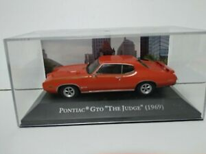 PONTIAC GTO THE JUDGE   1969  - 1/43 - ALTAYA