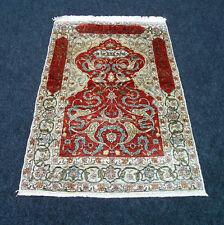 Seidenteppich Hereke 74 x 51 cm Türkischer Orient Teppich Seide Turkish Silk Rug