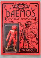 Suckadelic Daemos Supervillains figure 2008 Super rare NEW Limited to 50 pieces