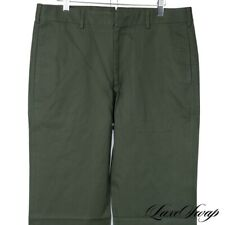 NWT Hertling Made in USA Straight Fit C4002 Olive Unlined Pants Trousers 40 #18