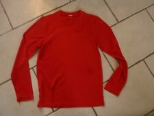 """TEE SHIRT DE SPORT ANTI TRANSPIRANT ROUGE """" NEUF """" TAILLE S / ARTICLE NEUF !!!!"""