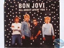 BON JOVI ALL ABOUT LOVIN' YOU PROMO CD digipack