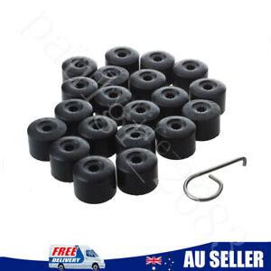 20PCS Wheel Bolt Nut Caps Cover For Volkswagen VW Golf Bora Jetta Passat