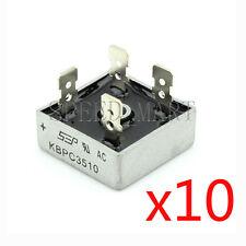 10 pcs KBPC3510 Bridge Rectifier Gleichrichter 1000V AC change DC 35A KBPC-3510
