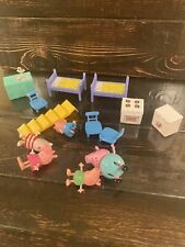 Peppa Pig Fold N Carry House  Accessories And Figures Toy Lot