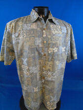 Kahala Floral Tribal Tiki Shirt XL Extra Large