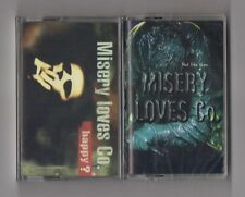 MISERY LOVES CO. - Lot of 2 cassettes SEALED Happy? & Not like them EARACHE