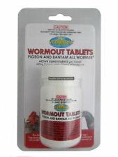 Vetafarm Wormout Tablets 50 Tabs Pigeon Bantam Wormer Bantom Treatment Killer
