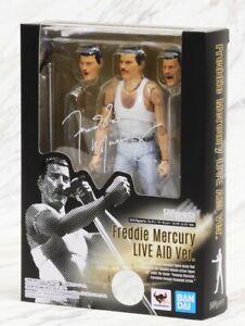 Bandai S.H. Figuarts FREDDIE MERCURY Live Aid Ver. Action Figure
