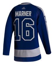 Toronto Maple Leafs Adidas синий 2020/21 обратный ретро Митч сила НХЛ Джерси