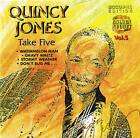 "QUINCY JONES ""Take Five"" Jazz CD NEU & OVP 15 Tracks Cosmus DSB"