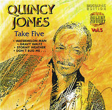 "Quincy jones ""take five"" Jazz CD NEUF & OVP 15 tracks Cosmus DSB"