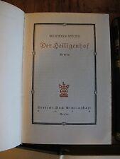Antik 1926 Hermann Stehr 4 Bände Romane  K0083