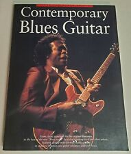 CONTEMPORARY BLUES GUITAR TAB SONGBOOK TABLATURE COLLINS HOPKINS KING HOOKER