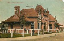 Idaho, ID, Nampa, O. S. L. Depot 1912 Postcard