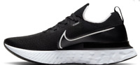 Nike React Infinity Run Flyknit Womens Black Running Shoe Free Shipping!