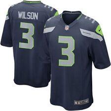 Nike Youth Seattle Seahawks Russell Wilson #3 Home Jersey Blue Medium 10/12