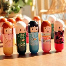 Cute Kimono Doll Natural Harmless Plant Moisturizing Healthy Lipstick Lip Pen