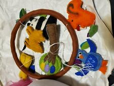 Forest Friends Handmade Nursery Baby Mobile Decor Neutral New Never used