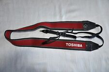 TOSHIBA GENUINE SHOULDER NECK STRAP FOR SLR CAMERA USED
