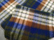 More details for ++ aabe 100% vintage wool dutch blanket wollen dekens 87