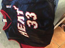Miami Heat Alonzo Mourning vintage   used NBA  jersey adult   medium champion