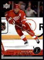 2002-03 Upper Deck Nicklas Lidstrom #63 (95563)