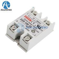 24V-380V 100A 250V SSR-100 DA Solid State Relay Module 3-32V DC To AC