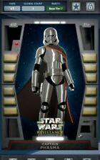 Topps Star Wars Card Trader Vader Black Base Variant Captain Phasma Digital Card