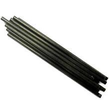 L11264 RC scala 1/8 Plastica Nero Braccio fibra Sostegno Palo Albero 90 mm Lungo x10