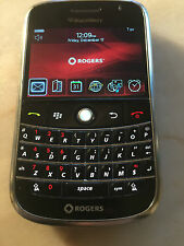 BlackBerry Bold 9000  - Black (Rogers CHATTER)~BROKEN LATCH~FREE SHIP