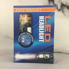 Fast Bright H4 3800 Lumens LED headlight Bulbs