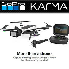 GoPro Karma Drone Quadcopter Without Hero 5,6,7 Black Camera Inc Karma Grip